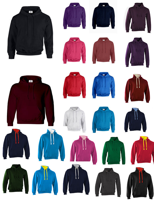 NUEVO Adulto 31 Colores Sudadera Sudadera Sudadera Con Capucha Unisex Top xxs-3xl Suéter Polar aa4ad3