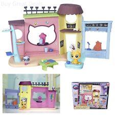 Girls Playset Littlest Pet Shop Cafe Building Dishes Plates Cups Food Furniture