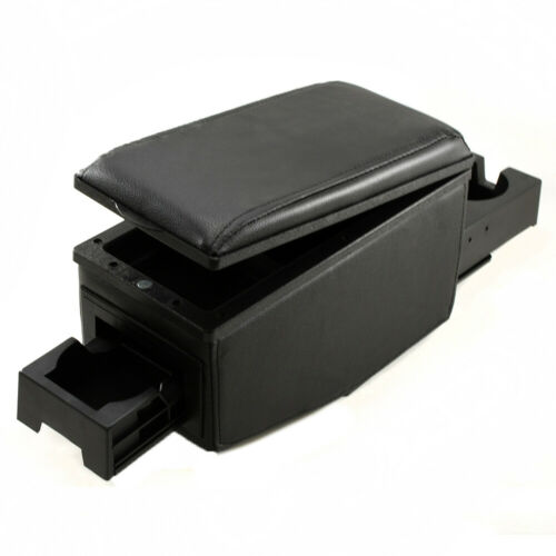 Black Armrest Centre Console For Vauxhall Opel Tigra Vectra Meriva Signum Zafira