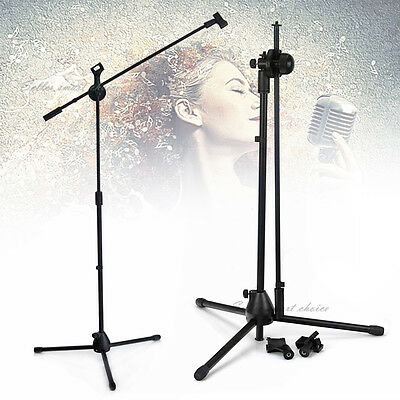 Microphone Boom Stand Professional Mic Stand Unbeakable Base Free Mic Clip