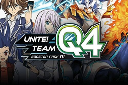 Mint Condition Team Q4 RR Singles Cardfight Vanguard: Unite