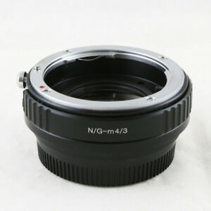 0-72x-Focal-Reducer-Speed-Booster-Nikon-F-mount-G-lens-to-Micro-M-4-3-Adapter
