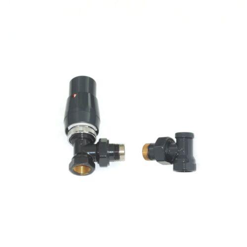 Anschlussgarnitur ELEGANT Heizkörper Thermostat Thermostatkopf Rücklauf