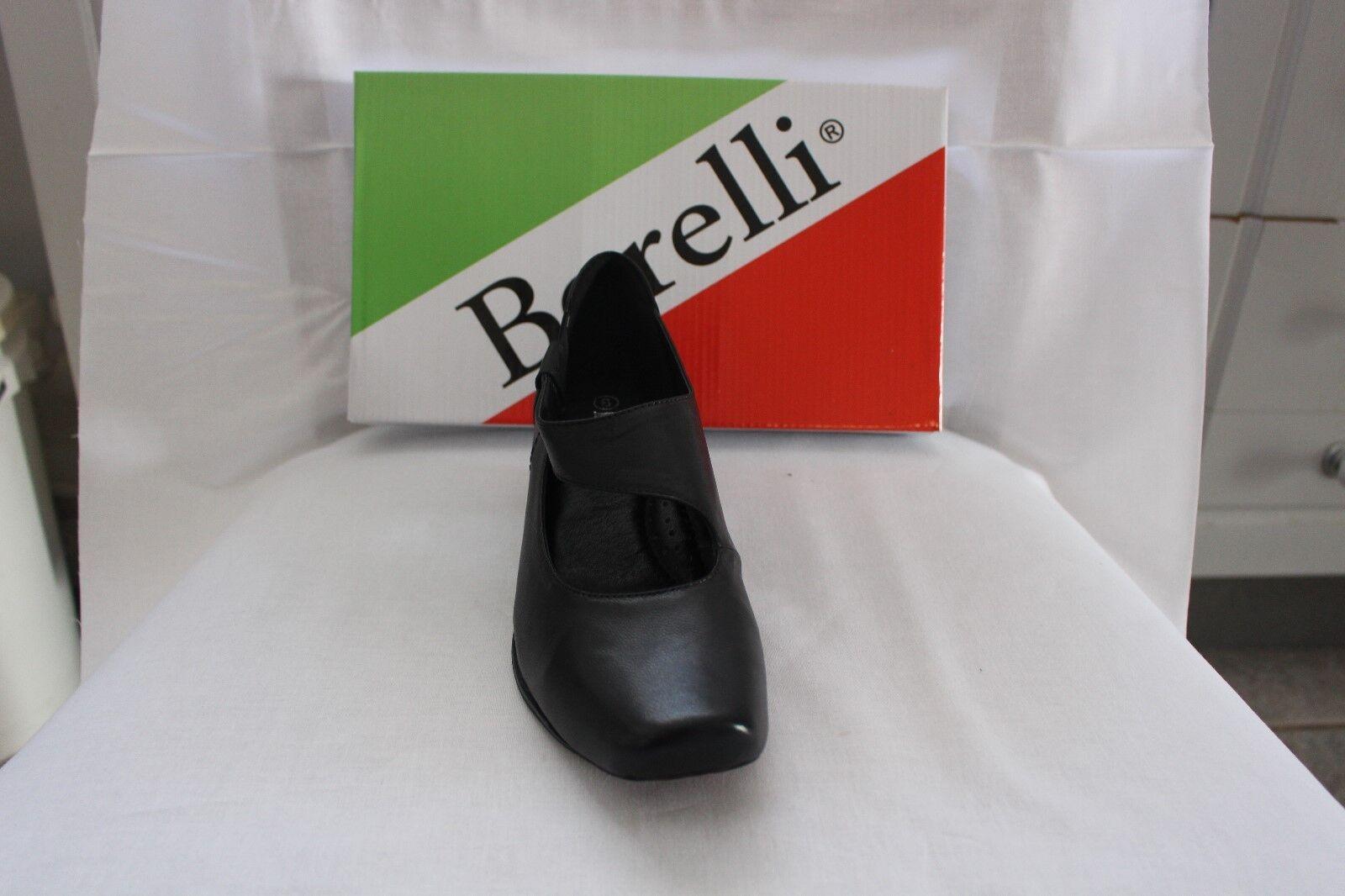 LADIES SHOES/FOOTWEAR - Borelli Majestic court black shoe black court 75a0db