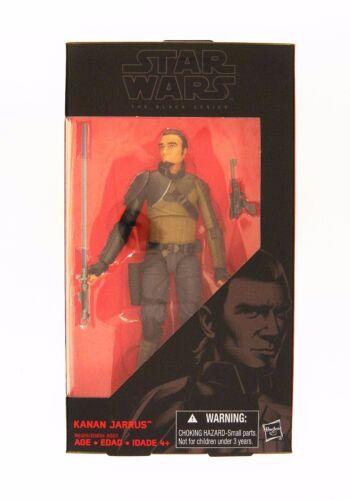 environ 15.24 cm HASBRO Star Wars rebelles Série Black 6 in Kanan Jarrus