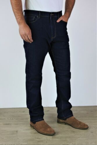 Men/'s Ex M/&S Straight Fit Jeans Casual Regular Water Resistant  W28-W50