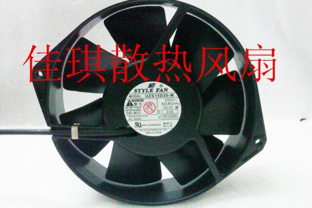 for 1 PCS STYLE FAN UZS15D10-M AC 100V 35//33W 150*38MM 2 Wire