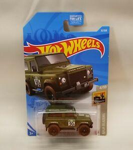 Hot Wheels 2021 B Case Land Rover Defender 90 Green NEW | eBay