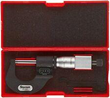 Starrett Digit Counter Outside Micrometer 0 1 Carbide Faces Certification Ltr
