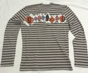 Mens-Galliano-Shirt-Henley-Button-Long-Sleeve-Sz-IT-50-US-M-UK-L