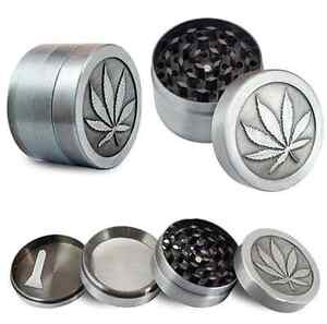 4 Layers Alloy Tobacco Crusher Hand Muller Leaf Smoke Herb Grinder Free Shipping