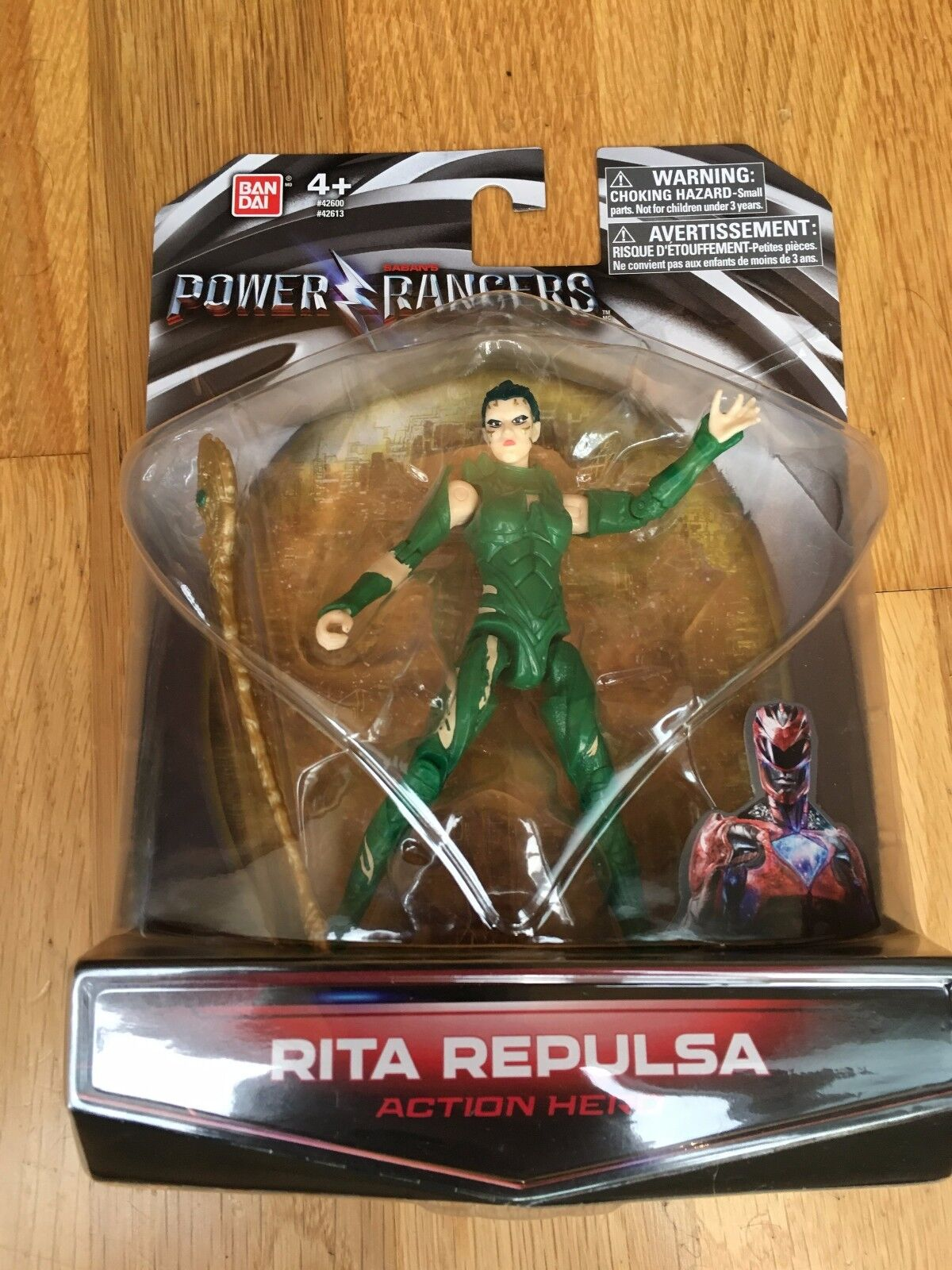 Power Rangers Movie 2017 - Rita Repulsa Rare hard to find (in hand uk seller)