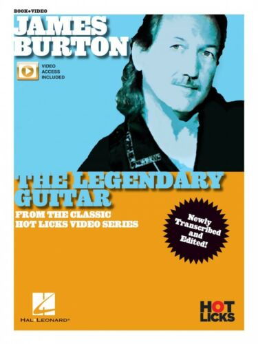Guitar From Classic Hot Licks Video 000269774 James Burton Book and Video