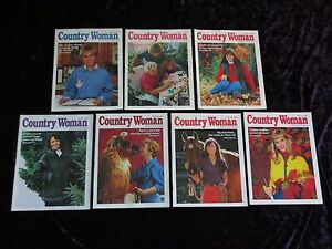 Country Woman Magazine Crafts Of Country Woman Magazine Lot Of 7 Issues Crafts Food Farm