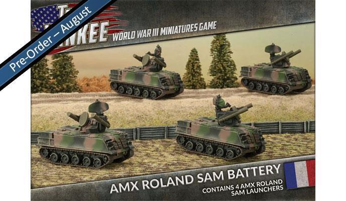 AMX ROLAND SAM BATTERY -  FLAMES OF WAR - TFBX06 - SENT FIRST CLASS