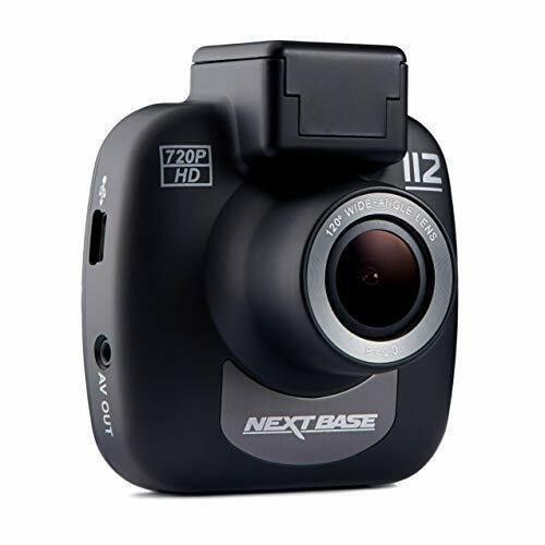 Nextbase 112 – Full 720p HD In-Car Dash Camera DVR - 120° Viewing Angle -