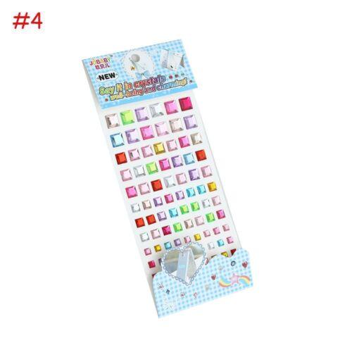 Kindes Spielzeug-Abziehbild Mobile PC Art Rhinestone Self Adhesive Sticker