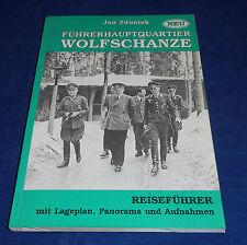 Jan Zduniak - Führerhauptquartier Wolfschanze Reiseführer mit Lageplan signiert