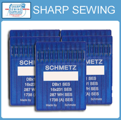 50 SCHMETZ 16X257 SIZE#14//90 BALL POINT LOCKSTITCH NEEDLES DBX1 1738 287WH