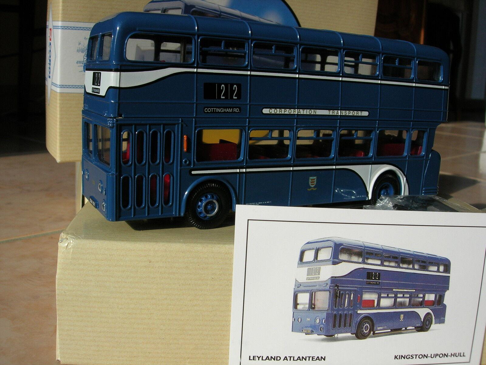 CORGI 1 50 AUTOBUS DOUBLE ETAGE LEYLAND Atlantean bus transport public