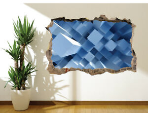 3D-Abstrait-Bleu-Bloc-Extension-du-mur-autocollant-mural-decoration-17718868