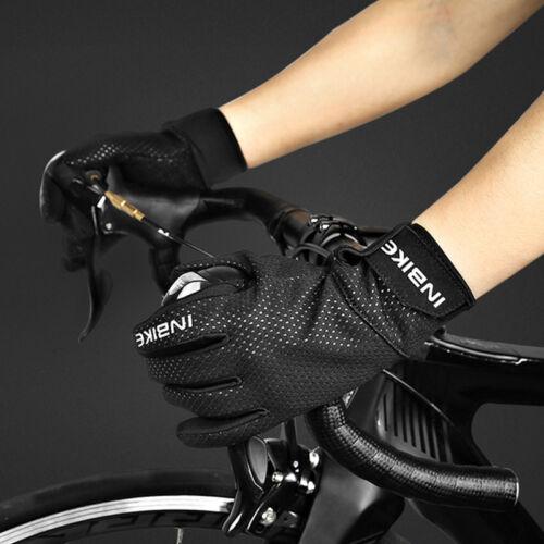 Winter Cycling Gloves Bike Bicycle Gel Windproof Full Finger Glove M-2XL B004