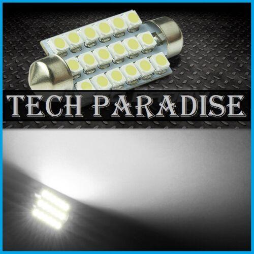 1x Ampoule 36mm C3W C5W C7W C10W LED 16 SMD Blanc White plaque Navette Festoon