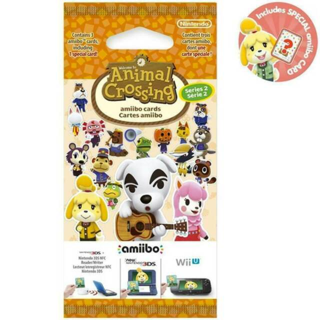 Animal Crossing Amiibo Cards pack Series 2. Brand New. Original (UK)