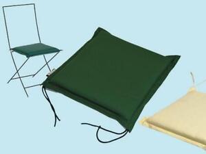 Dettagli su Cuscino Cuscini modello Zippo SedutaEcru sedie sedia giardino  giardini
