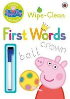 Peppa Pig: Practise with Peppa - Wipe-Clean First Words (2015, Taschenbuch)