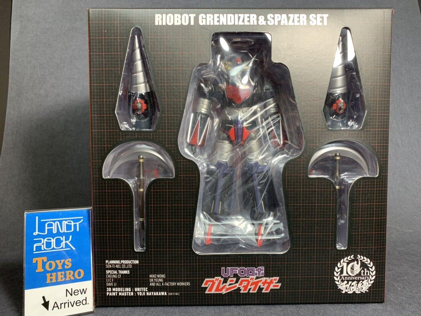 [] giocattoli Hero in uomoo Sentinel UFO ROBOT GRENDIZER e SPAZER Riobot azione cifra