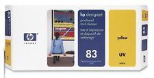 HP Druckkopf DesignJet 5000 5500 5500PS / C4963A 83 / Yellow GELB UV Printhead