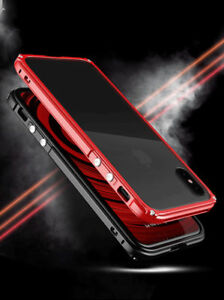 Aluminum Ultra Thin Metal Frame Bumper Clear Back Case Cover For