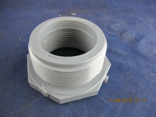 1 MNPT x 3//4 FNPT PVC Reducing Bushing Sched 80