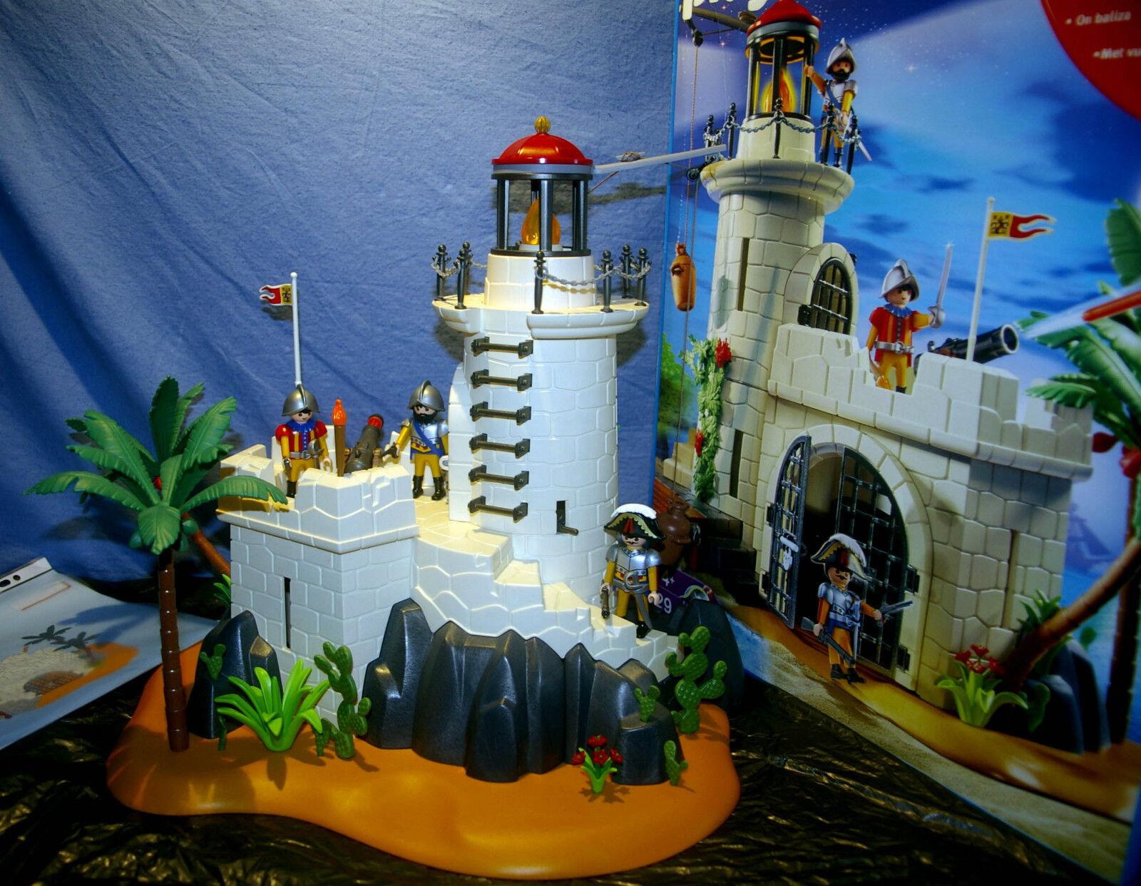 Biete sehr schönen Leuchtturm 4294 von Playmobil mit OVP und Anleitung.