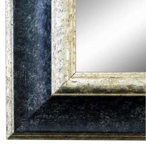 NEU Spiegel Wandspiegel Flur Bad Holz Modern Shabby Acta Schwarz Silber 6,8