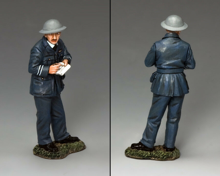 KING & COUNTRY ROYAL AIR FORCE RAF059 R.A.F. INTELLIGENCE OFFICER MIB