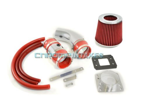 RED COLD AIR INTAKE KIT FOR 88 89 90 91 92 93-95 TOYOTA PICKUP//4RUNNER 3.0L V6