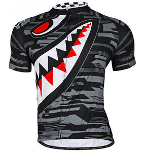 Men Cycling Jersey Bicycle Breathable Top Bike Clothing T