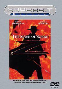 Brand-New-DVD-The-Mask-of-Zorro-Superbit-Deluxe-Antonio-Banderas-Anthony-Hop