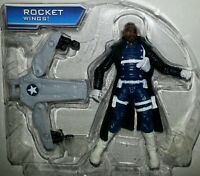 Marvel Universe Nick Fury 3.75 Action Figure Jet Armor Avengers Assemble Shield