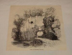 1887-magazine-engraving-CAVES-OF-JEDBURGH-Scotland