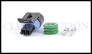 Details about Coolant Temperature Temp Sensor ECT connector plug pigtail GM  TPI TBI LT1 LS1