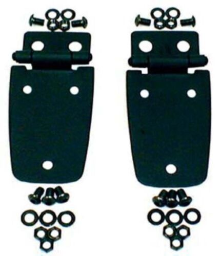 Rugged Ridge 11205.02 Hood Hinges for 97-06 Wrangler Pair Black
