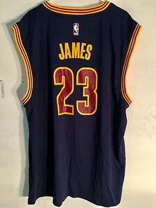 4da62a9bada Image is loading Adidas-NBA-Jersey-Cleveland-Cavaliers-LeBron-James-Navy-