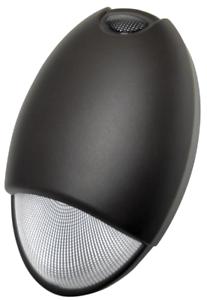 LED Emergency Fixture Tear Drop UL Wet Listed 120-277V Bronze 2.5W 5000K 22448