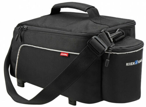 Gepäckträgertasche KLICKfix Rackp.Light schwarz 37x19x18cm 8 ltr.635 g  0268RA