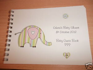 Marvelous Image Is Loading BABY SHOWER NEW BABY MESSAGE ADVICE GUEST BOOK
