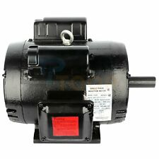 75hp Air Compressor Electric Motor Single Phase 2 Pole 3450 Rpm 184t Frame Odp
