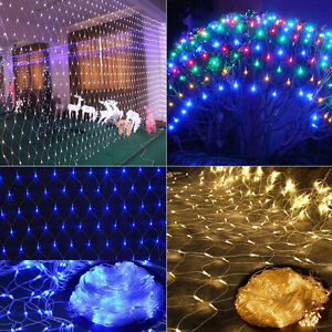 LED-String-Fairy-Light-Net-Mesh-Web-Curtain-Xmas-Wedding-Party-Outdoor-Indoor-AU